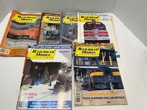 RAILROAD MODEL CRAFTSMAN 6 ASSORTED ISSUES