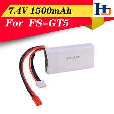 1500mAh 7.4V 2S Transmitter Lipo Battery for Flysky FS-GT5 Remote Control Parts