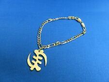 African Jewelry African Ashanti Andinkra Gye Nyami Symbol Pendant Bracelet B