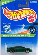 Hot Wheels 1996 Treasure Hunt Series Jaguar XJ220 #4 of 12 Collector #431 NEW