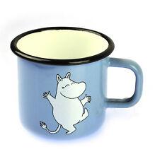 Moomintroll on Light Blue - Moomin Muurla Enamel Mug - 37 cl