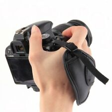 PU Leather Camera Hand Wrist Grip Strap for SLR DSLR Cameras6ky