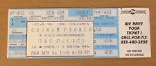 1989 Graham Parker Hollywood Concert Ticket Stub Struck By Lightning Human Soul