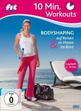 DVD Fit For Fun 10 Min. Workouts Bodyshaping auf Reisen zu Hause... Winkler (K1)