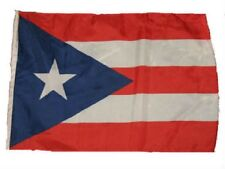 """12x18 12""""x18"""" Country of Puerto Rico Rican Sleeve Flag Boat Car Garden"""