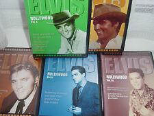 5 ELVIS PRESLEY DVDS HOLLYWOOD ELVIS VOLUMES 1 TO 5