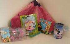 Disney Fairies Bathroom Set Rug, Curtain Hooks, Night Light, Toothbrush Holder