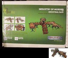 Bandua BAI0100073 Industry of Murder Industrial Pack Pre-Painted Terrain Kit NIB