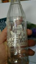 Huey Beverages Gipsy Pennsylvania  wagon scene ACL soda bottle