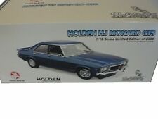 1:18 Holden HJ Monaro GTS 1975 Deauville Blue Classic Carlectables yuk00