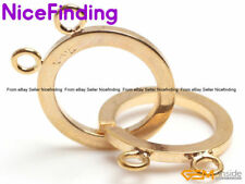 2 Strands 14K Gold Filled Toggle Clasp Connector Jewelry Repair Finding 16mm