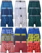 Crosshatch Men's Striped Underwear Boxer Trunks