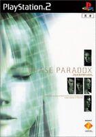 PS2 PHASE PARADOX PlayStation 2 Japan F/S