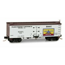 N Micro Trains 058 00 546 Senate Brewing Co.    36' Wood Sheathed Ice Reefer
