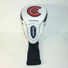 Cleveland Golf Club Launcher E-Z Grab Driver #1 Wood Headcover White Red Blue