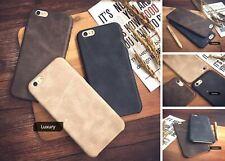 Cover Custodia in Pelle originale per Apple Iphone x 8 7 PLUS 6 S 5 + pellicola