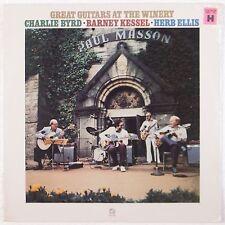 GREAT GUITARS: Charlie Byrd, Barney Kessel, Herb Ellis CONCORD Jazz SEALED LP