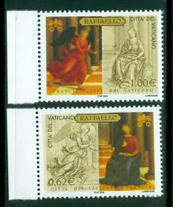 2005 Vatican City Sc# 1312-13: Great Museums of the World - The Louvre MNH