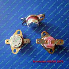 Termostato KSD301 KSD302 250V 10A 230ºC contacto NC, ceramic Switch Thermostat