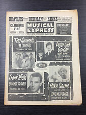 NME: New Musical Express Magazine feat The Beatles, Herman, September 11th 1964