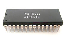 Synertek Sy6551A: 28-Pin Ic: Very Rare Device: Nos: Great Price