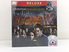 New Sealed DELUXE TWILIGHT SCENE IT? DVD Board Game Movie Trivia Free UK Post
