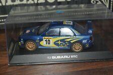 Scalextric Autoart Subaru Impreza Slot Car No 10 Tommi Makinen AWD excellent