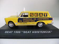 SEAT 1500 ASISTENCIA IXO 1/43 ESPAGNOL SPANIA ALTAYA SERVICIO CARRETERA