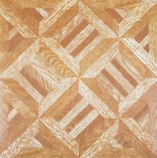 100 Sol Vinyle Carreaux autocollante en bois parquet diamants Area M 9.6 unité 100