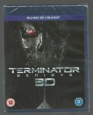 TERMINATOR GENISYS - 3D AND 2D - sealed/new - UK 3D BLU-RAY - Schwarzenegger