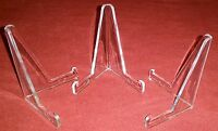 """~10 Best Value 3-3/8"""" Display Stand Pictures / Photos / Sportscards Stand Easel"""