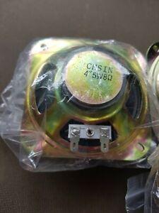 2 x 4 Inch (10.2cm) diameter 8 Ohms 5 Watt Speakers For Arcade Machines