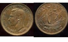ROYAUME UNI - GREAT BRITAIN  half penny 1938   ( etat )
