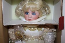 MILAGRO Kais Doll Treasured Heirloom Collection JANIS BERARD porcelain NIB