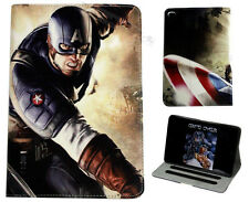 For Apple iPad Mini 1 2 3 4 Marvel Comics Captain America Avengers Case Cover DC