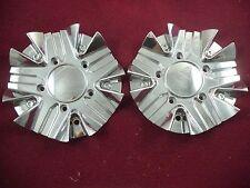 2 Crave Chrome Custom Wheel Center Cap # C138-1 (2 Caps) No Logo