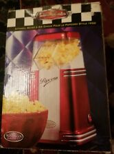 50s STYLE POPCORN MAKER BY NOSTALGIA ELECTRICS NEW IN BOX