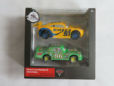 DISNEY PIXAR CARS 3 Twin Pack DINOCO CRUZ RAMIREZ & CHICK HICKS  DISNEY STORE