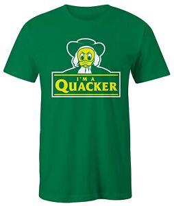 """Oregon Ducks """"I'M A QUACKER"""" Green T Shirt"""