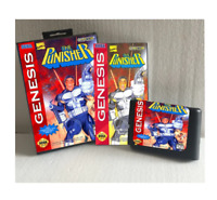The Punisher  16 bit MD Game Card Boxed With Manual For Sega Mega Drive Genesis