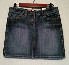 Womens/Juniors Spank Jeans Skirt Sz7 30wx14.5 total length *CUTE*List#339G