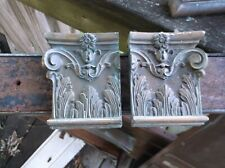 Vintage Brass Post office Architectural Victorian Style Old copper crown molding