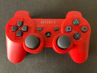 Sony Playstation 3 PS3 SixAxis DualShock 3 Controller Gamepad - RED