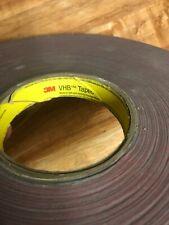 "Genuine 3M 4905 VHB Double-Sided Tape - 3/4""x 27 Yard Length."