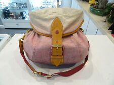 Louis Vuitton Sushine Monogram Denim Pink Limited Edition Bag (M93183)