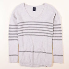 GAP Damen Pullover Sweater Strick Gr.M (DE 38) Wolle Grau, 48933