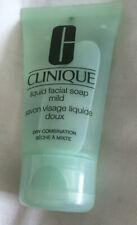 Clinique Liquid Facial Soap Mild 30ml Face Wash Cleanser TRAVEL SIZE Dry Skin