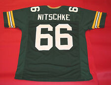 RAY NITSCHKE CUSTOM GREEN BAY PACKERS JERSEY READ NOTE