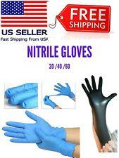 20 x 40 x 60 Guantes desechables Nitrile Powder free Gloves Nitrile   M L XL