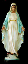 OUR LADY OF GRACE 5,90 ft Tihaljina Medjugorje Statue Full Color Ancient Finish